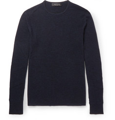 rag & bone Giles Slim-Fit Mélange Merino Wool Sweater