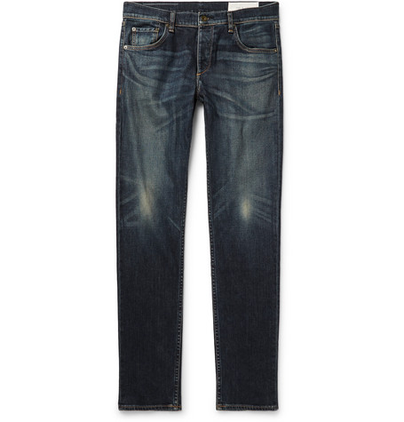 Fit 2 Slim-fit Denim Jeans - Blue