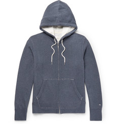 rag & bone Standard Issue Loopback Cotton-Jersey Hoodie