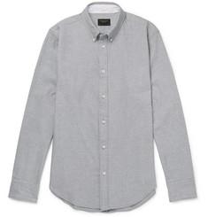 rag & bone - Slim-Fit Button-Down Collar Brushed Cotton-Twill Shirt