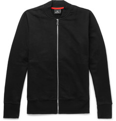 PS by Paul Smith Loopback Cotton-Jersey Bomber Jacket