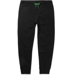 PS by Paul Smith Slim-Fit Tapered Loopback Organic Cotton-Jersey Sweatpants