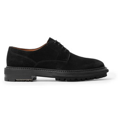 Lanvin Suede Derby Shoes