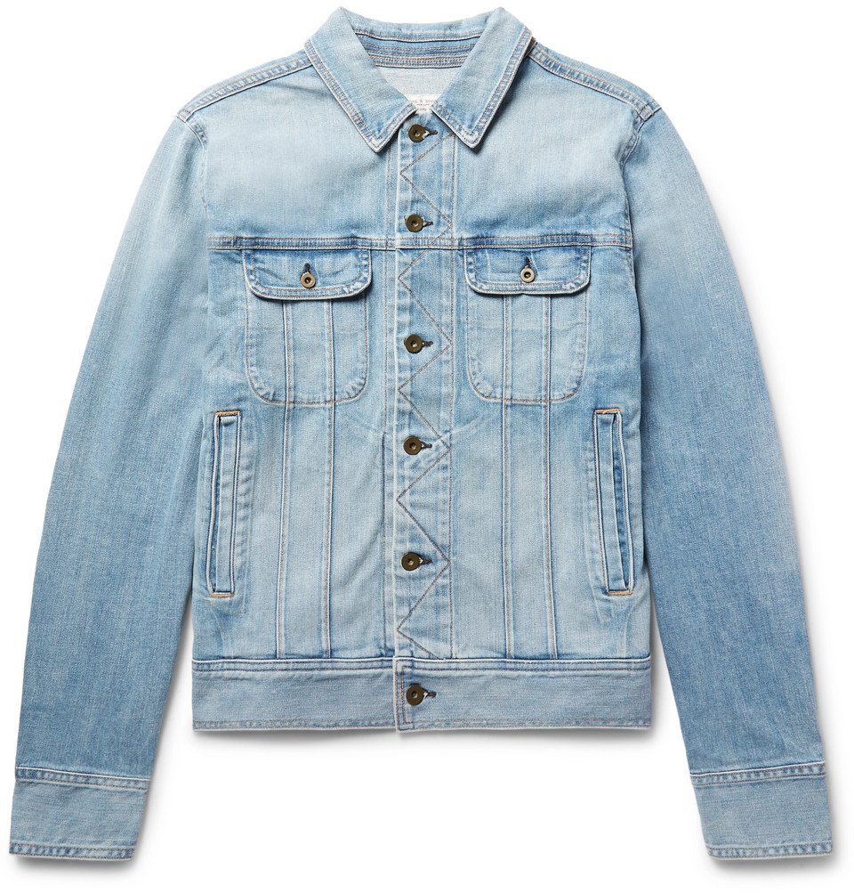 rag & bone Faded Denim Jacket