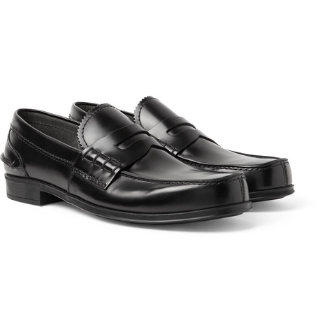 Prada Loafers Black Shoes For Men Big Discount