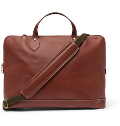 Best Made Company The Service Brief Leather Briefcase