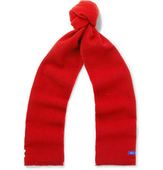 Best Made Company Fringed Colour-Block Wool Scarf