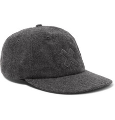 Best Made Company Mélange Wool-Felt Baseball Cap