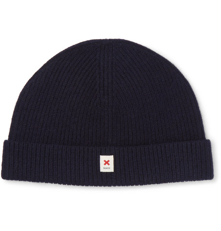 The Cap Of Courage Wool Beanie - Blue