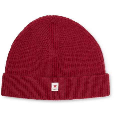 The Cap Of Courage Wool Beanie - Red