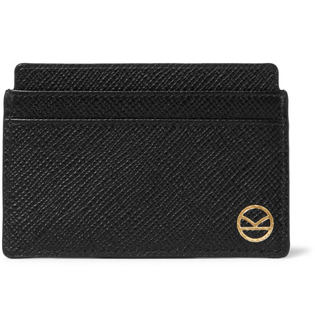 + Smythson Panama Cross-grain Leather Cardholder Kingsman AcIqr