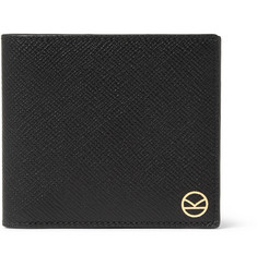 Kingsman - + Smythson Panama Cross-Grain Leather Billfold Wallet