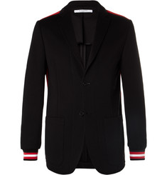 Givenchy - Striped Cotton-Jersey Blazer