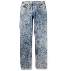 Maison Margiela Slim-Fit Stonewashed Bleached Denim Jeans