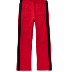 Maison Margiela Satin-Trimmed Piqué Drawstring Trousers