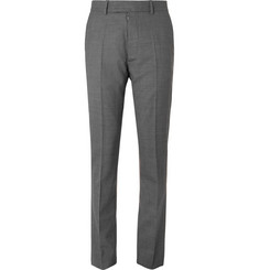 Maison Margiela Grey Slim-Fit Mélange Virgin Wool Suit Trousers