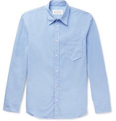 Maison Margiela Slim-Fit Garment-Dyed Cotton-Poplin Shirt