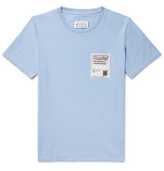 Maison Margiela Stereotype Appliquéd Cotton-Jersey T-Shirt
