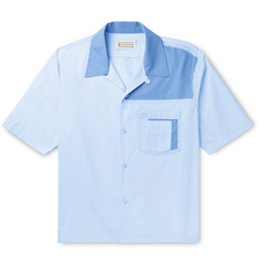 Maison Margiela - Camp-Collar Cotton-Poplin Shirt