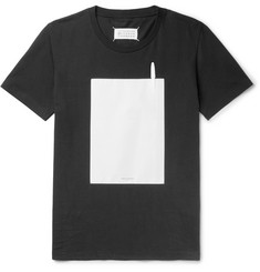Maison Margiela Printed Cotton-Jersey T-Shirt