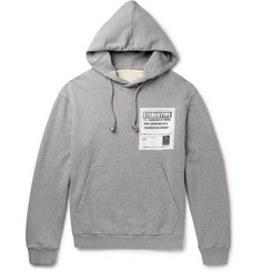 Maison Margiela Stereotype Loopback Cotton-Jersey Hoodie