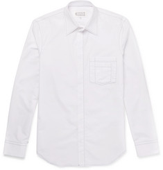 Maison Margiela Slim-Fit Contrast-Stitched Cotton Shirt