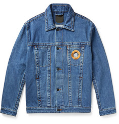 Craig Green Embroidered Denim Trucker Jacket