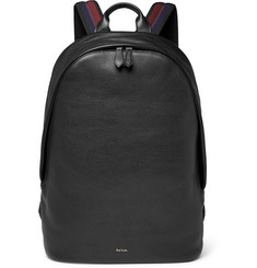 Paul Smith - Textured-Leather Backpack
