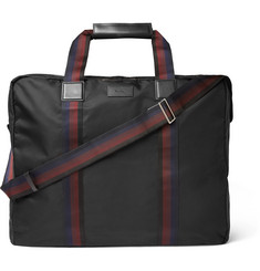 Paul Smith - Leather-Trimmed Shell Suit Carrier