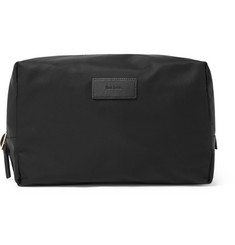 Paul Smith Leather-Trimmed Shell and Webbing Wash Bag