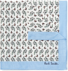 Paul Smith - Floral-Print Cotton Pocket Square