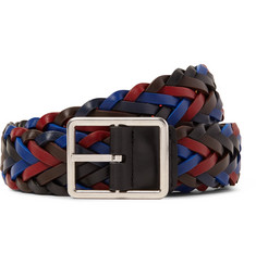 Paul Smith - 3cm Reversible Woven Leather Belt