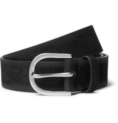 Paul Smith Black Suede Belt