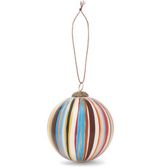 Paul Smith - Striped Glass Bauble
