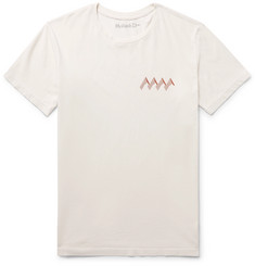 Mollusk Solar Energy Printed Cotton-Jersey T-Shirt