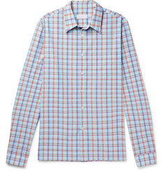Prada Checked Cotton-Poplin Shirt