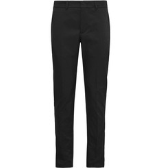 Prada Slim-Fit Gabardine Trousers