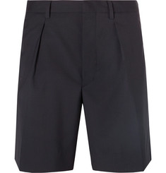 Prada Virgin Wool Shorts