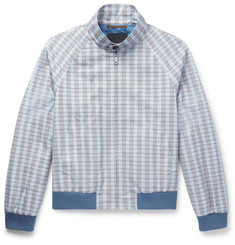 Prada - Checked Cotton Blouson Jacket