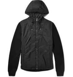 Prada Virgin Wool-Blend and Nylon Hooded Jacket