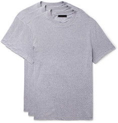 Prada Three-Pack Slim-Fit Cotton-Jersey T-Shirts