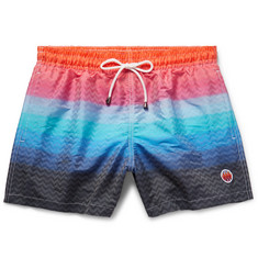 Missoni Mare Mid-Length Jacquard-Shell Swim Shorts