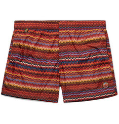 Missoni - Mid-Length Printed Swim Shorts