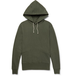 J.Crew Wallace Loopback Cotton-Jersey Hoodie