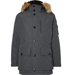 J.Crew - Nordic Faux Fur-Trimmed Shell Down Parka