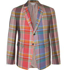 Thom Browne Checked Wool Blazer