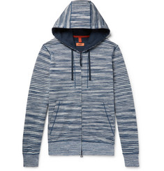 Missoni - Space-Dyed Loopback Cotton-Jersey Zip-Up Hoodie