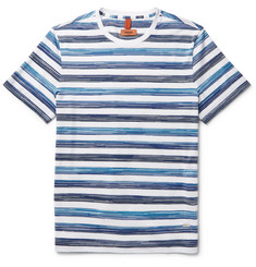 Missoni Space-Dyed Striped Cotton-Jersey T-Shirt