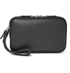Dunhill Hampstead Leather Travel Pouch