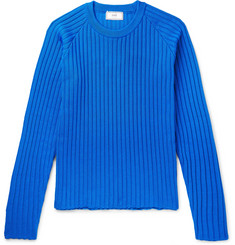 AMI Ribbed-Knit Sweater